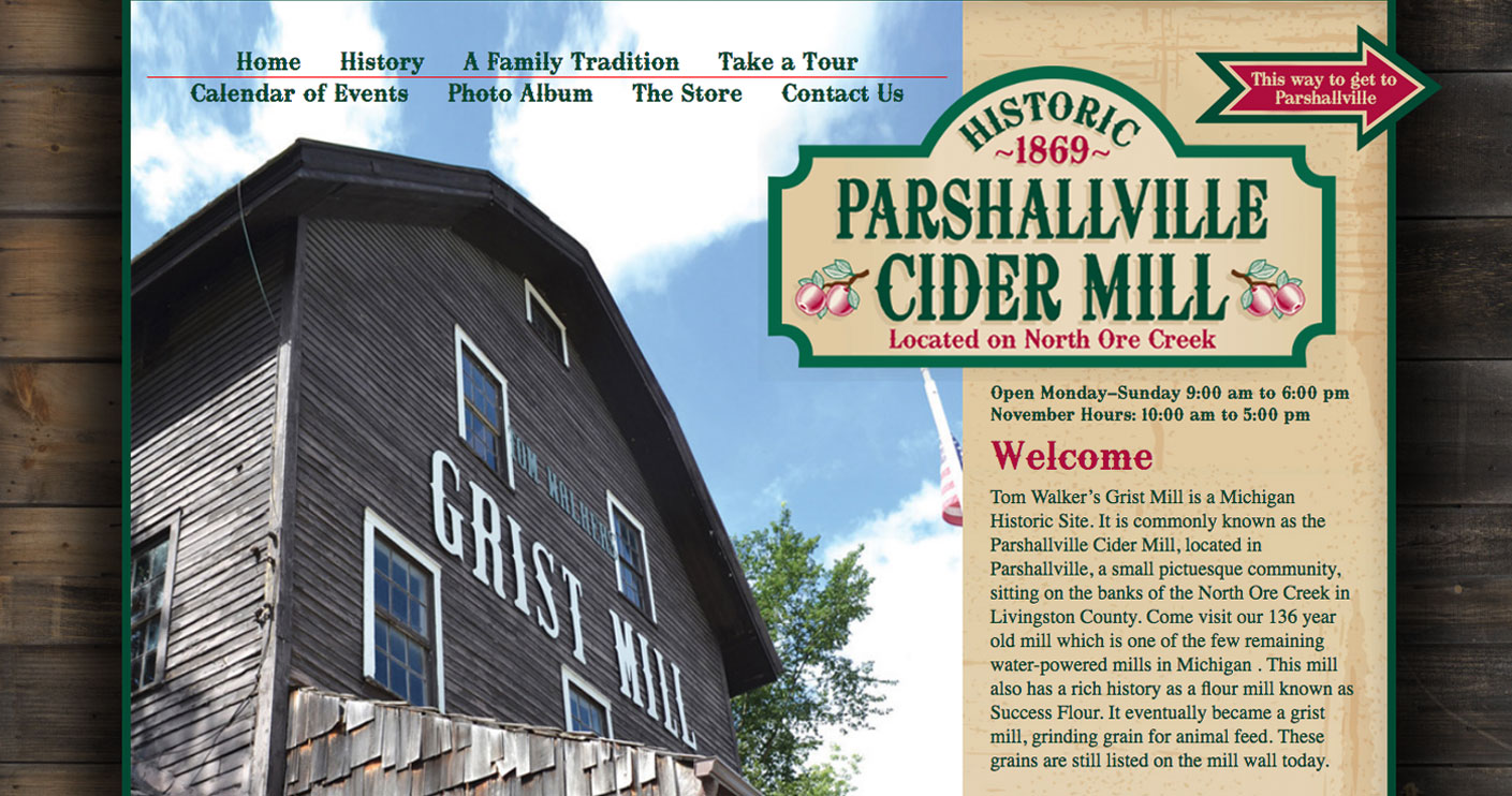 Parshall Ville Cider Mill