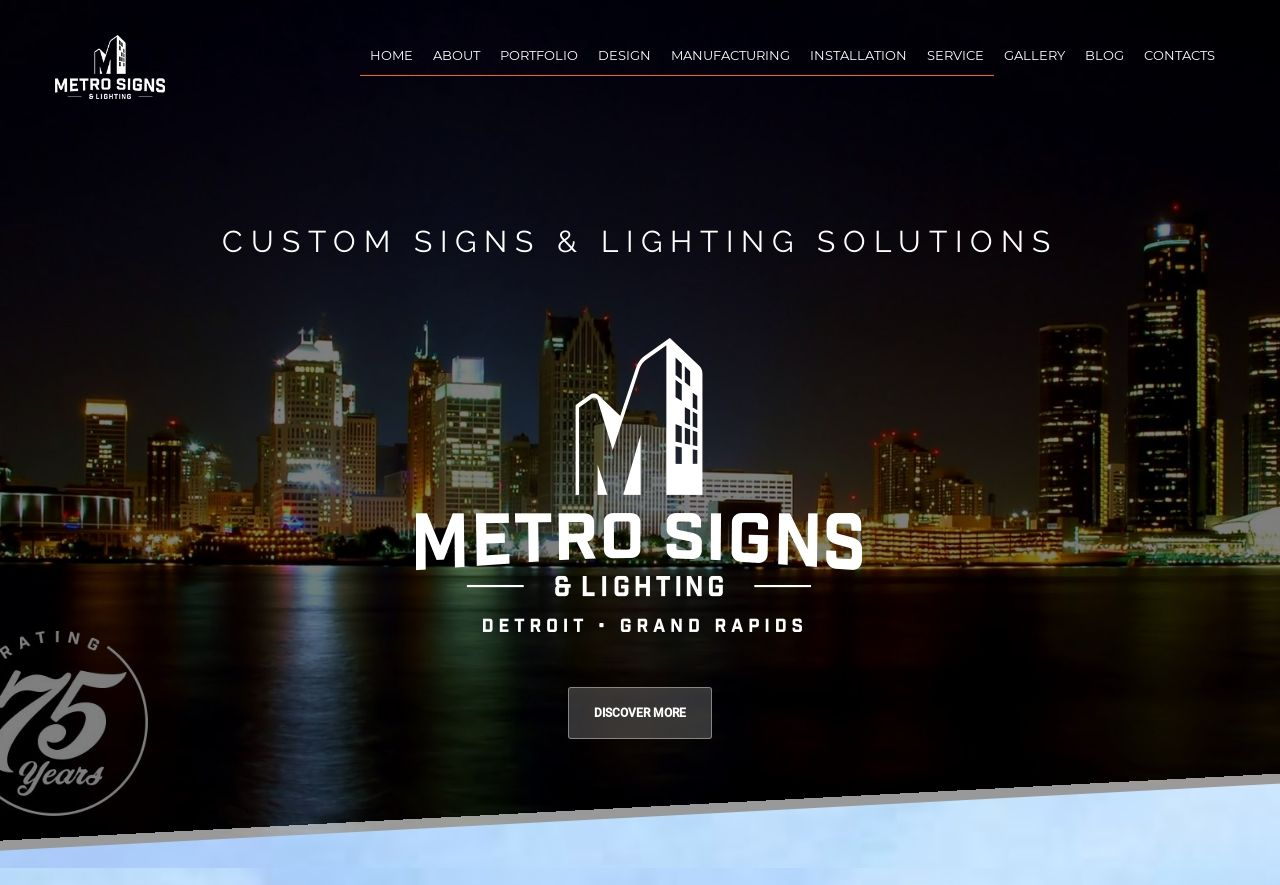 Metro Signs & Lighting