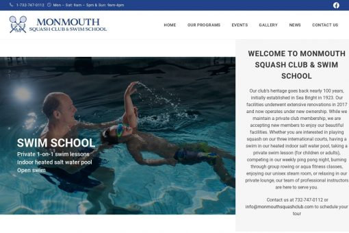 Monmouth Squash Club & Swim School